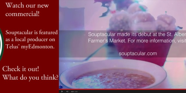 Watch Souptacular on Telus Optik!