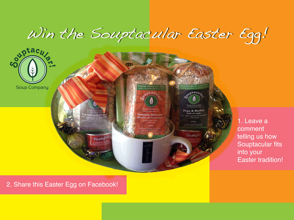 Win The Souptacular Easter Egg!