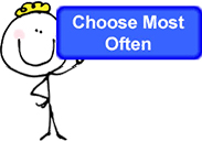 ChooseMostOften